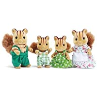 Calico Critters Furbanks Squirrel Family(並行輸入)