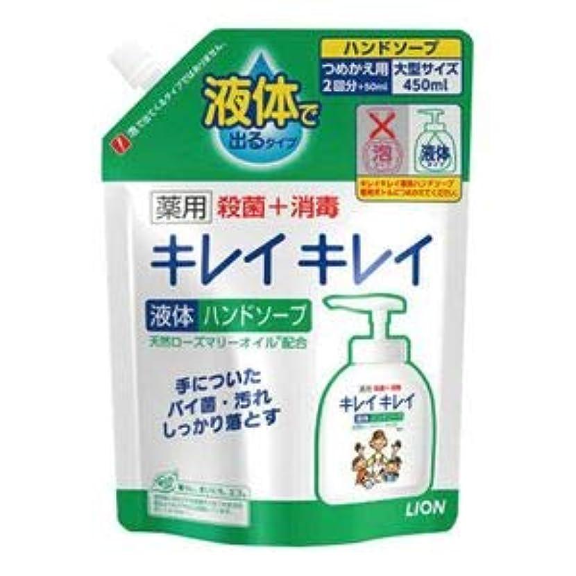 ケーブルカーポップ貫入(まとめ) ライオン キレイキレイ液体ハンドソープ 詰替 16袋【×3セット】