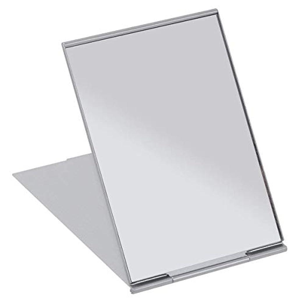 尊厳ペットファッションSALOCY コンパクトミラー モデル折立ミラー 化粧鏡 携帯ミラー 11.5*8cm 持ち運びに便利