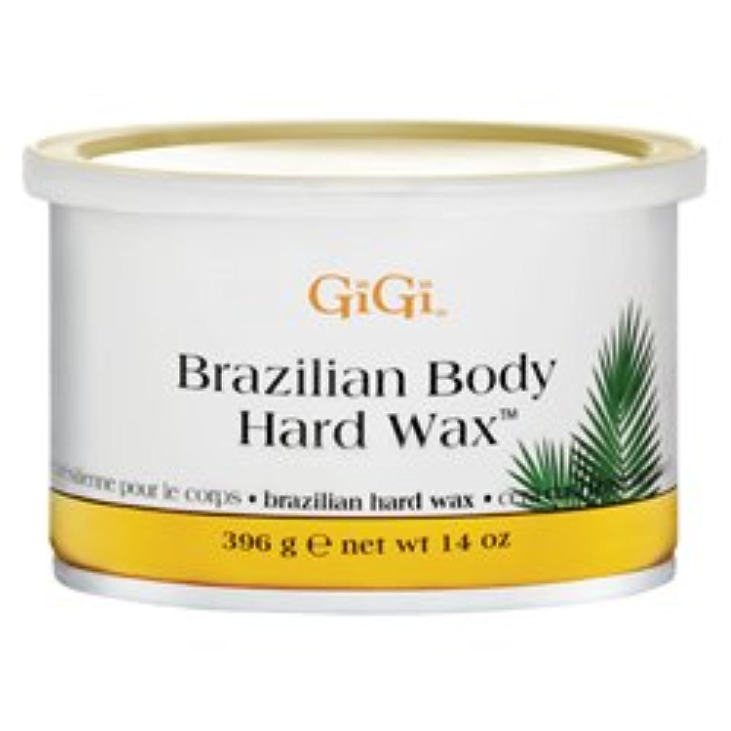 ダウンタウン分析的な実装するブラジリアンボディハード脱毛ワックス 396g (並行輸入品)