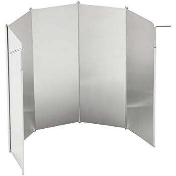 ロゴス(LOGOS) ウィンドスクリーン バーベキュー コンロ用 風よけ 室内利用可能 折りたたみ収納
