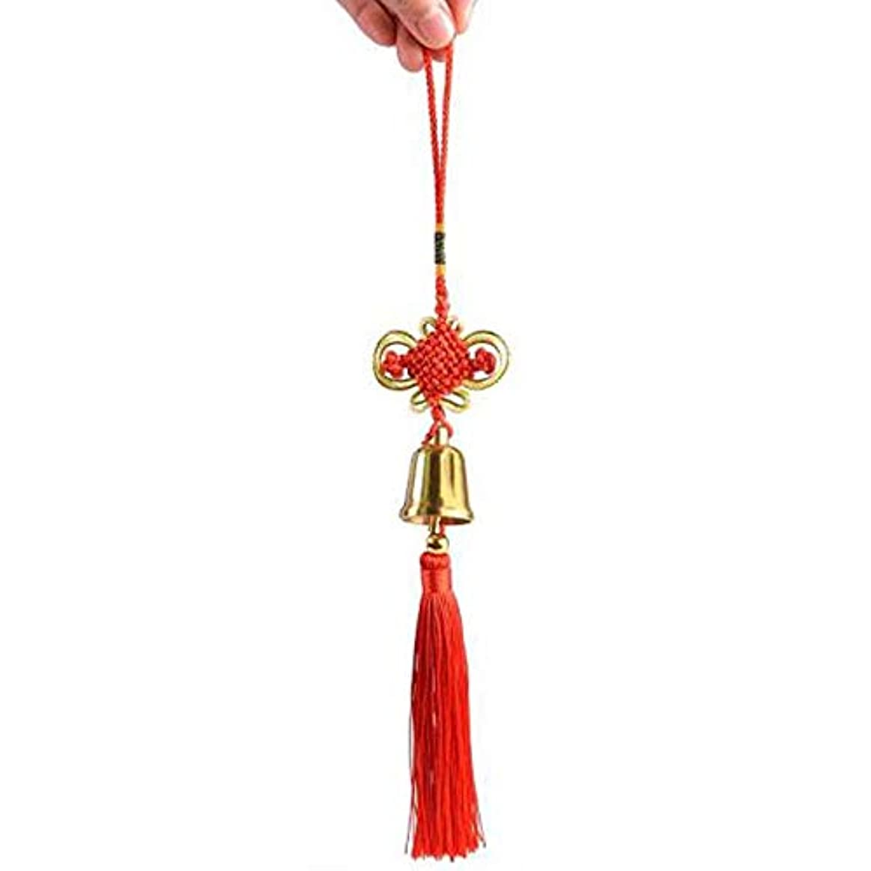 送信するボウリング発明するAishanghuayi 風チャイム、真鍮ベル、ホーム車の装飾、ゴールド、サイズ4x3CM,ファッションオーナメント (Size : 4cm)