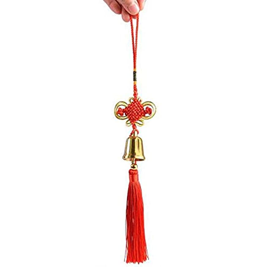 思いやりのあるインスタンス暫定Hongyushanghang 風チャイム、真鍮ベル、ホーム車の装飾、ゴールド、サイズ4x3CM,、ジュエリークリエイティブホリデーギフトを掛ける (Size : 5cm)