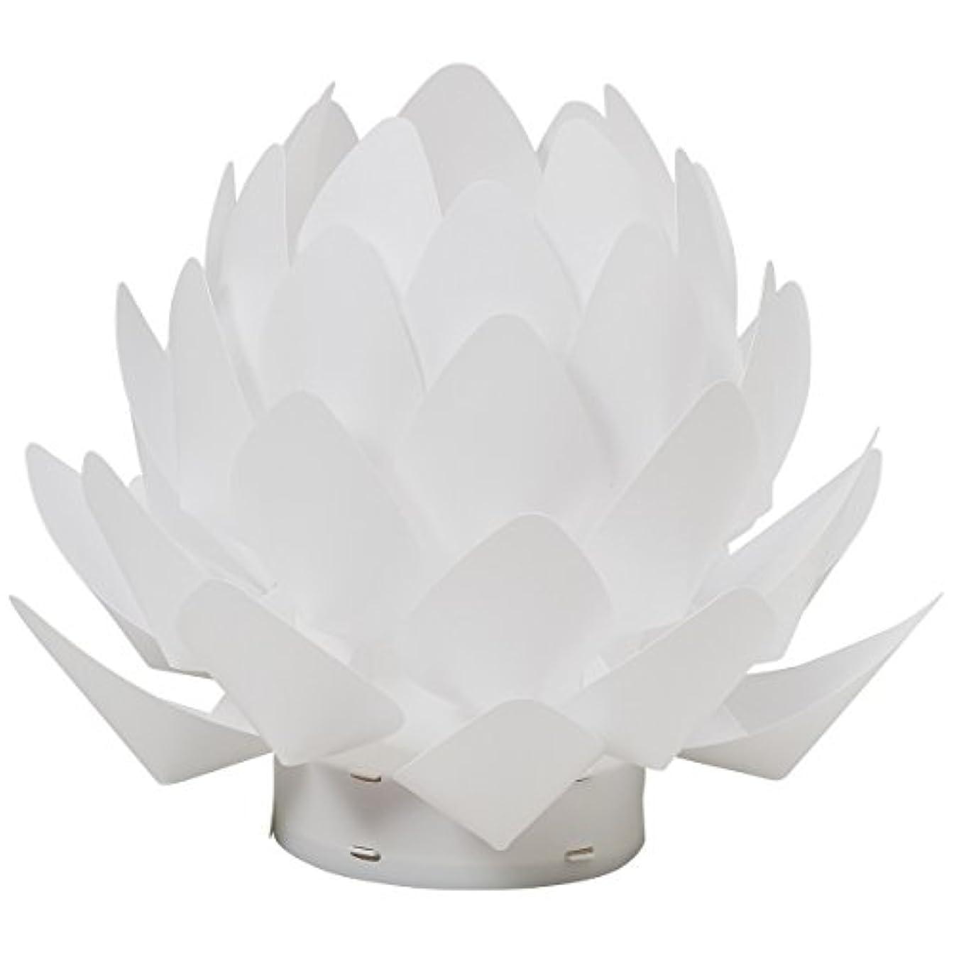 パケット階段取り組むカメヤマ 盆提灯 Origami-lite 蓮花 XS (間接照明)