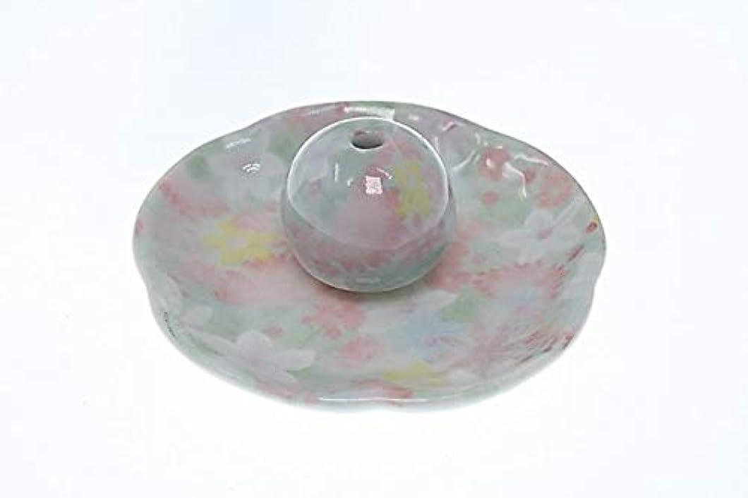 ケントまさに満足できる華苑 花形香皿 お香立て 日本製 製造 直売品