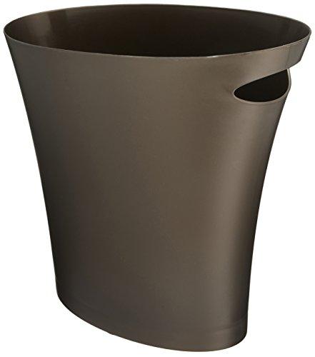 umbra スリムゴミ箱 SKINNY CAN(スキニーカン) ブロンズ 7.5L 2082610-125