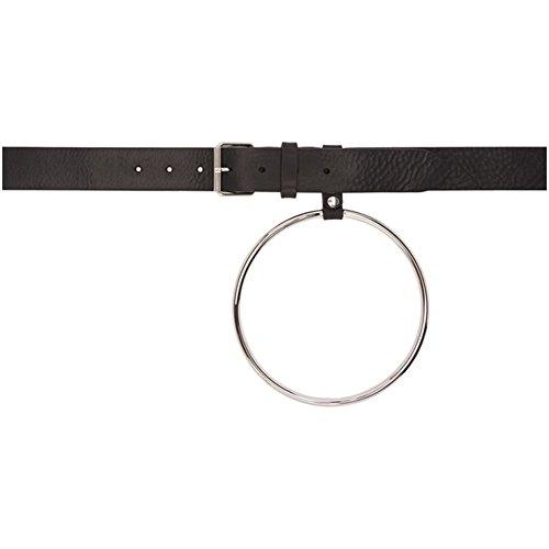 (ヴェトモン) Vetements レディース ベルト Black Ring Belt [並行輸入品]