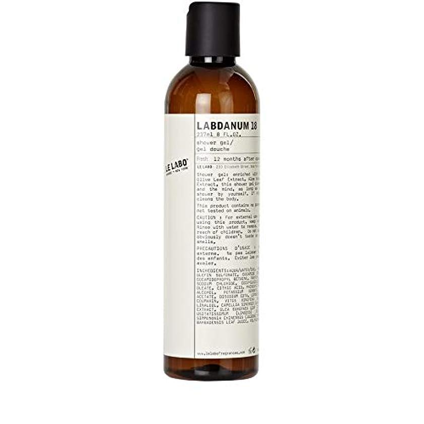 幹水陸両用鏡[Le Labo ] ルラボラブダナム18シャワージェル237ミリリットル - Le Labo Labdanum 18 Shower Gel 237ml [並行輸入品]