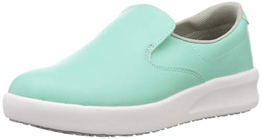 小さいチューインガム王女[ミドリ安全] 作業靴 超耐滑 高反発 スリッポン ハイグリップ?ザ?フォース NHF700