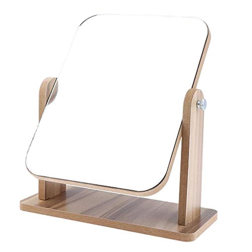 正しく床枯渇メイクアップミラー 化粧鏡 卓上ミラー クリスマス プレゼント 2サイズ選べ - 22x17 cm