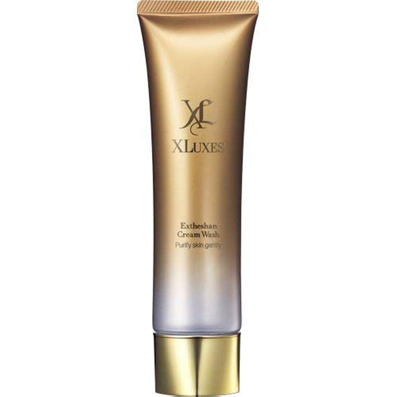 クリック褒賞罰XLUXES 美容液洗顔 [ヒト幹細胞 培養液配合] エグゼティシャン クリームウォッシュ (ダマスクローズの香り)