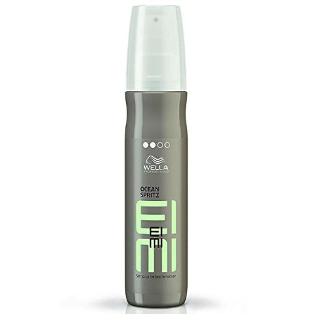 掃除放課後露Wella EIMI Ocean Spritz - Salt Spray For Beachy Hair Texture 150 ml [並行輸入品]
