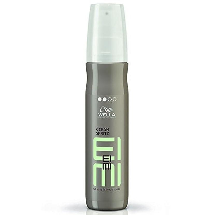 できない距離圧縮Wella EIMI Ocean Spritz - Salt Spray For Beachy Hair Texture 150 ml [並行輸入品]