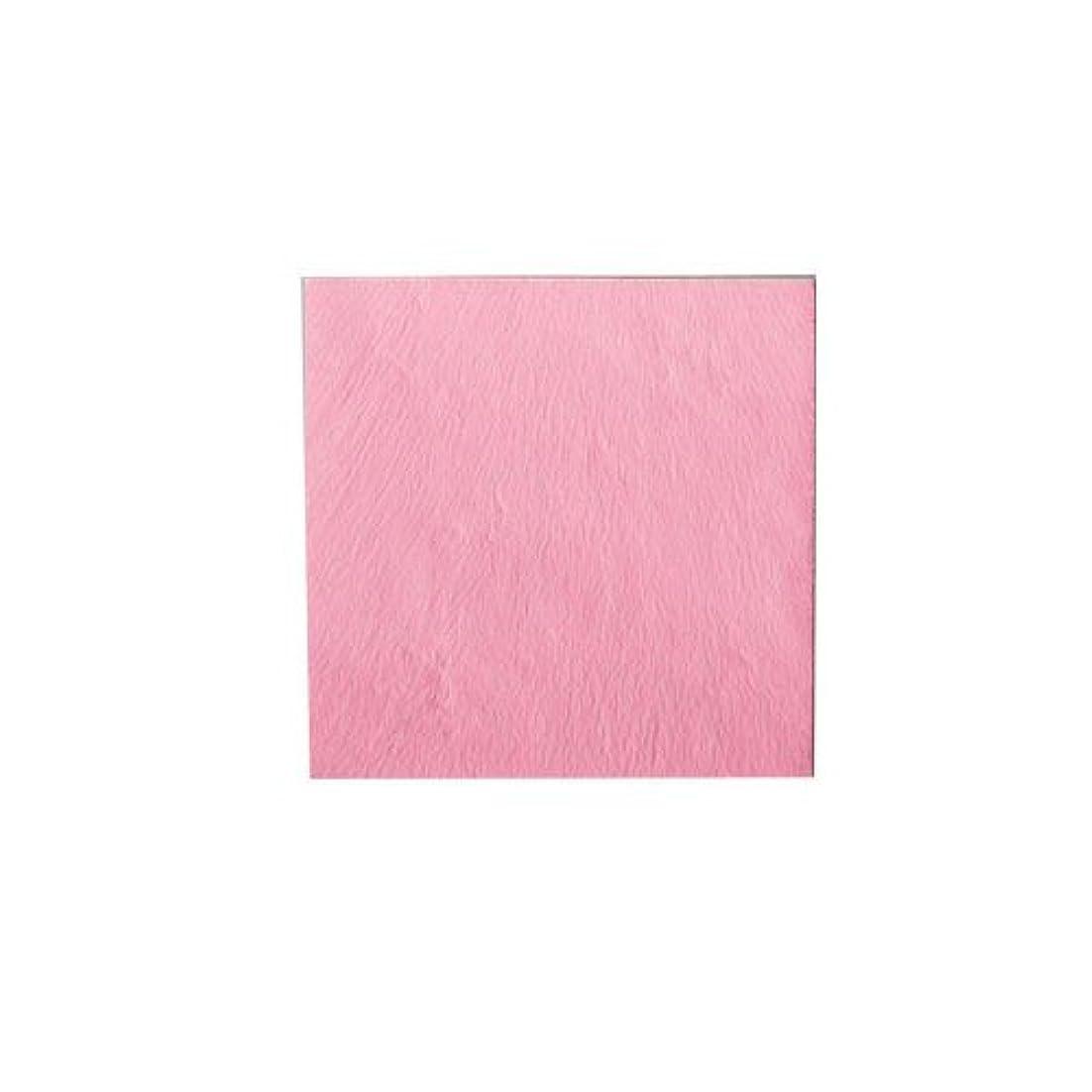 ピカエース ネイル用パウダー パステル銀箔 #643 パステルローズ 3.5㎜角×5枚