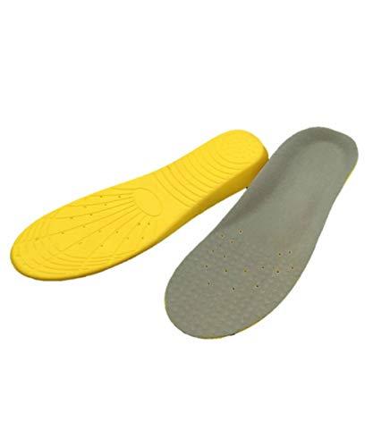 インソール 衝撃吸収 靴の中敷き 低反発 ソフト クッション効果 立ち仕事 ウォーキング 底の薄い靴などに!【WL Products】
