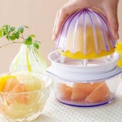 食べづらい柑橘類をカットするシトラスカッター