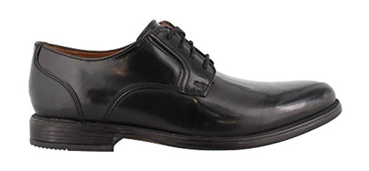 処分した有能な再現するBOSTONIAN (ボストニアン) 本革 ビジネスシューズ エナメル ドレスシューズ レザー プレーントゥ メンズ レースアップ 靴 革靴 紳士靴 Black 8.5インチ(26cm相当)