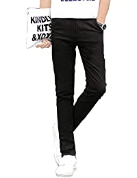 チノパン ストレッチ スリム スキニー カラーパンツ カツラギ メンズ カジュアル ロングパンツ 大きいサイズ (XS-5XLサイズ)