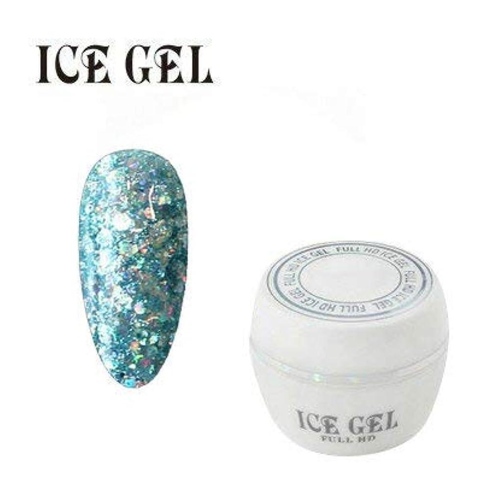 局解凍する、雪解け、霜解けネストアイスジェル カラージェル ビック シャイン BS-593 3g