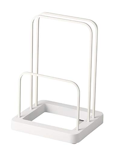 パール金属 浴室用ラック ホワイト 幅19.5×奥行18×高さ29cm 珪藻土バスマット&体重計スタンド シンプルピュア HB-4022