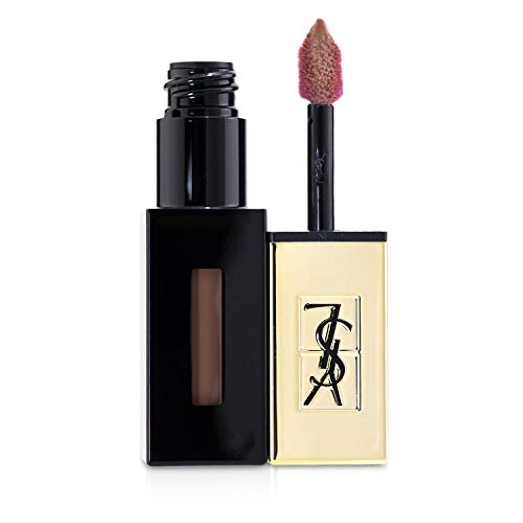 プラットフォーム無能ウェイトレスイヴ?サンローラン Rouge Pur Couture Vernis a Levres Glossy Stain - # 55 Beige Estampe 6ml/0.2oz並行輸入品