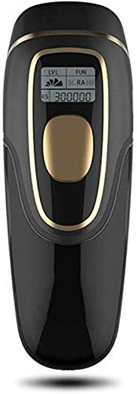 欠員表面的な解釈するHABAIS 永久脱毛システム 2 1における500,000 点滅 LCDスクリーン付き レーザー脱毛器 ビキニライン/足/腕/脇の下,Black_18.4x7.1x4.6CM