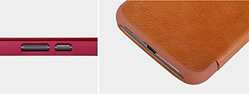 『NILLKIN Motorola Moto G4 Plus 2016 スマートフォンケース 褐色』の6枚目の画像