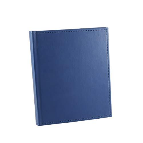 KING アルバム レザーポケットアルバム L100 〔L判サイズ 2段2枚構成 合計100枚収納〕 ブルー 817525