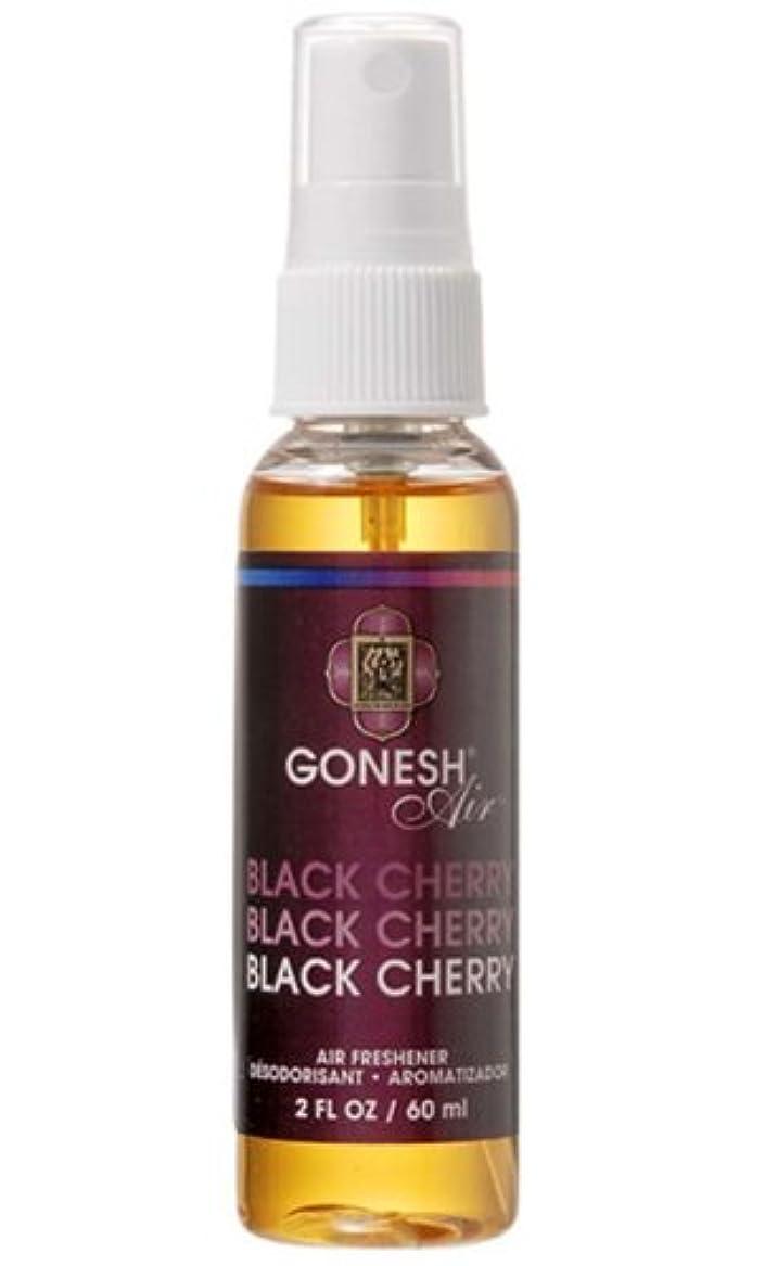 黒くするコイン牧師GONESH エアーフレッシュナー ウォーターベース ブラックチェリー 60ml