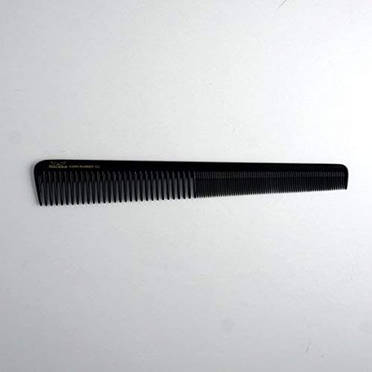 交換可能扱う耳7in, Hard Rubber, Barber Comb with Extra Fine Teeth [並行輸入品]