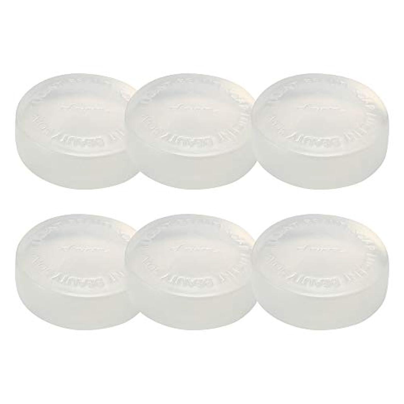 自発的月面細胞アミノン ルーセントビューティーソープ(酵母の石鹸) 100g (6個セット)