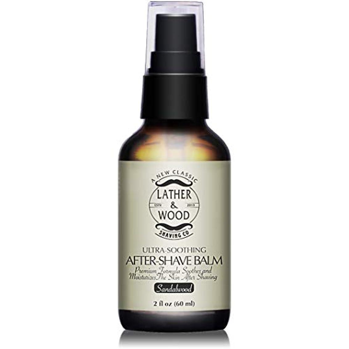 献身漁師監督するBest After-shave Balm, Sandalwood Scent, Premium Aftershave Lotion, Soothes and Moisturizes Face after shaving...