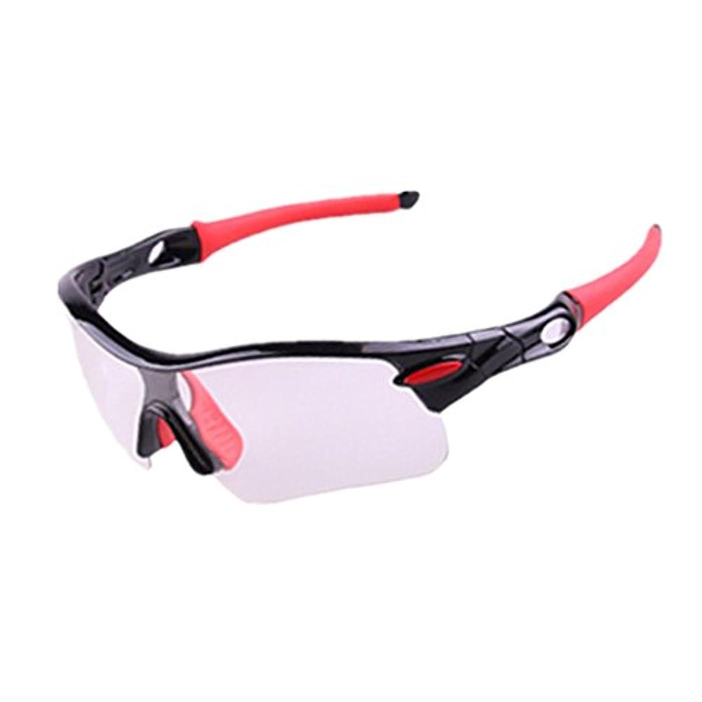 便宜トラフ応じるサイクリングメガネ 屋外サイクリング愛好家に適した大人の屋外メガネを変える自転車の色