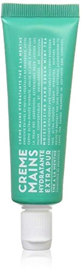スロー最も遠い産地カンパニードプロバンス ハンドクリーム ミントティー 30mL (手肌用保湿 爽やかな香り)
