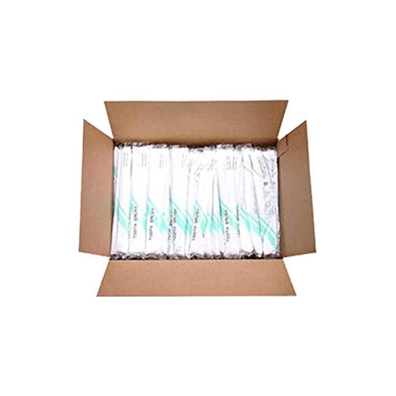 壮大な成熟チューブ使い捨て歯ブラシ (歯磨き粉付) 500本入 [ 使い捨て 使い切り 歯ブラシ 歯ぶらし オーラルケア アメニティ ホテル 旅館 業務用 ]