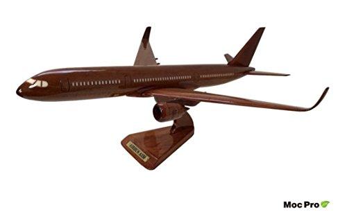 MocPro木製エアプレーンモデル ハンドメイド木製飛行機模型 DC-10