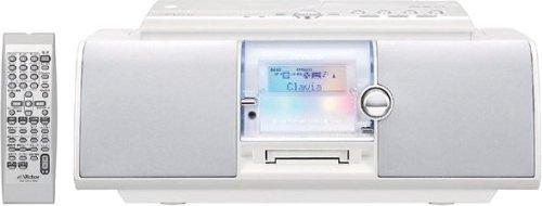 JVCケンウッド ビクター CD-MDポータブルシステム ホワイト RC-L1MD-W