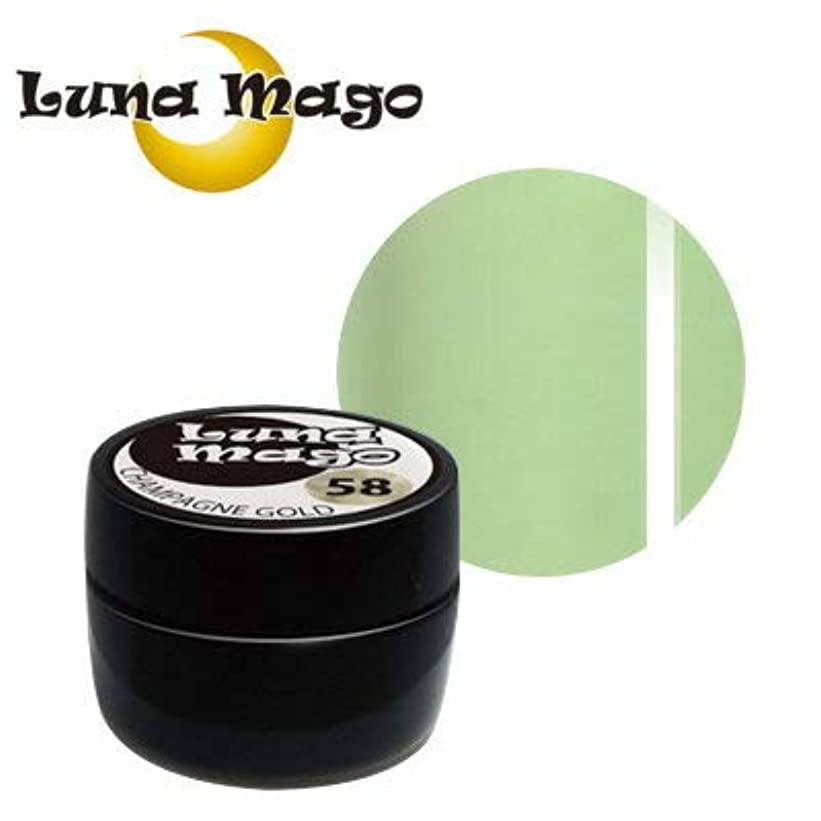 絡み合い策定する性差別Luna Mago カラージェル 5g 037 グリーンティラテ