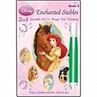 Invisible Ink Disney Enchanted Stables Magic Painting Book 2