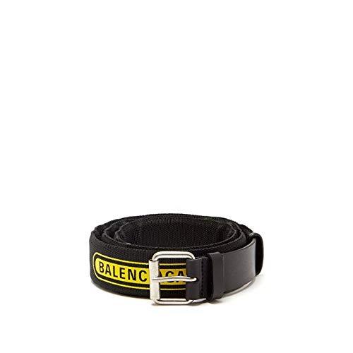 (バレンシアガ) Balenciaga メンズ ベルト Logo belt [並行輸入品]