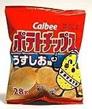 カルビー ポテトチップス うすしお味 28g