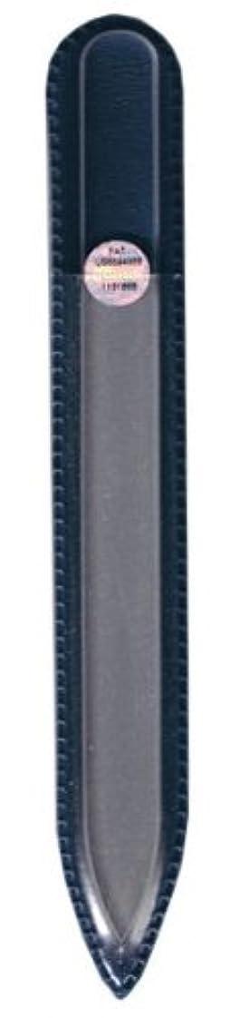 掘るバイオリニスト要件ブラジェク ガラス爪やすり 140mm 片面タイプ(プレーン)