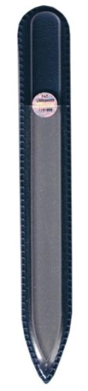 静脈憂慮すべきフォーマルブラジェク ガラス爪やすり 140mm 片面タイプ(プレーン)