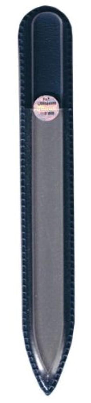 フェデレーション商品四ブラジェク ガラス爪やすり 140mm 片面タイプ(プレーン)