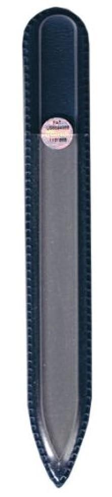 拡張バンジョー資本ブラジェク ガラス爪やすり 140mm 片面タイプ(プレーン)