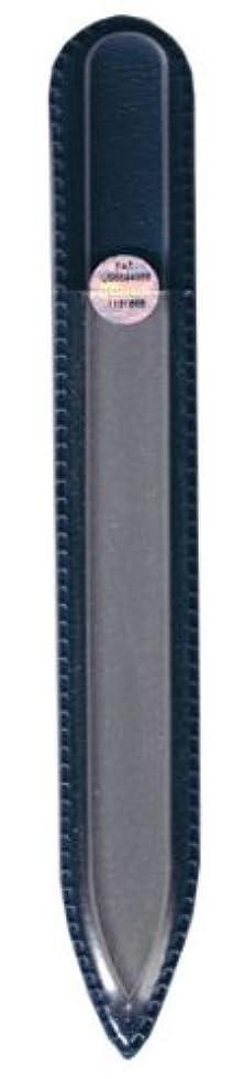近代化するアジャ全国ブラジェク ガラス爪やすり 140mm 片面タイプ(プレーン)