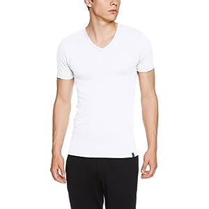 (グンゼ) GUNZE インナーシャツ クールマジック 天竺 Vネック半袖 MC1815 MC1815 03 ホワイト M