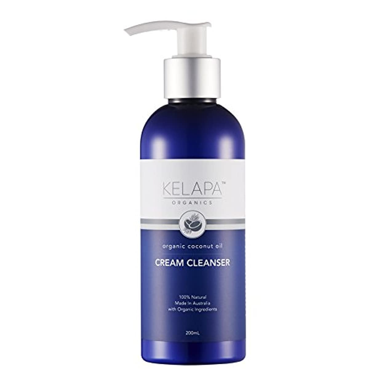 防衛先行する知事Kelapa Organics Face Cream Cleanser クリームクレンザー 200ml