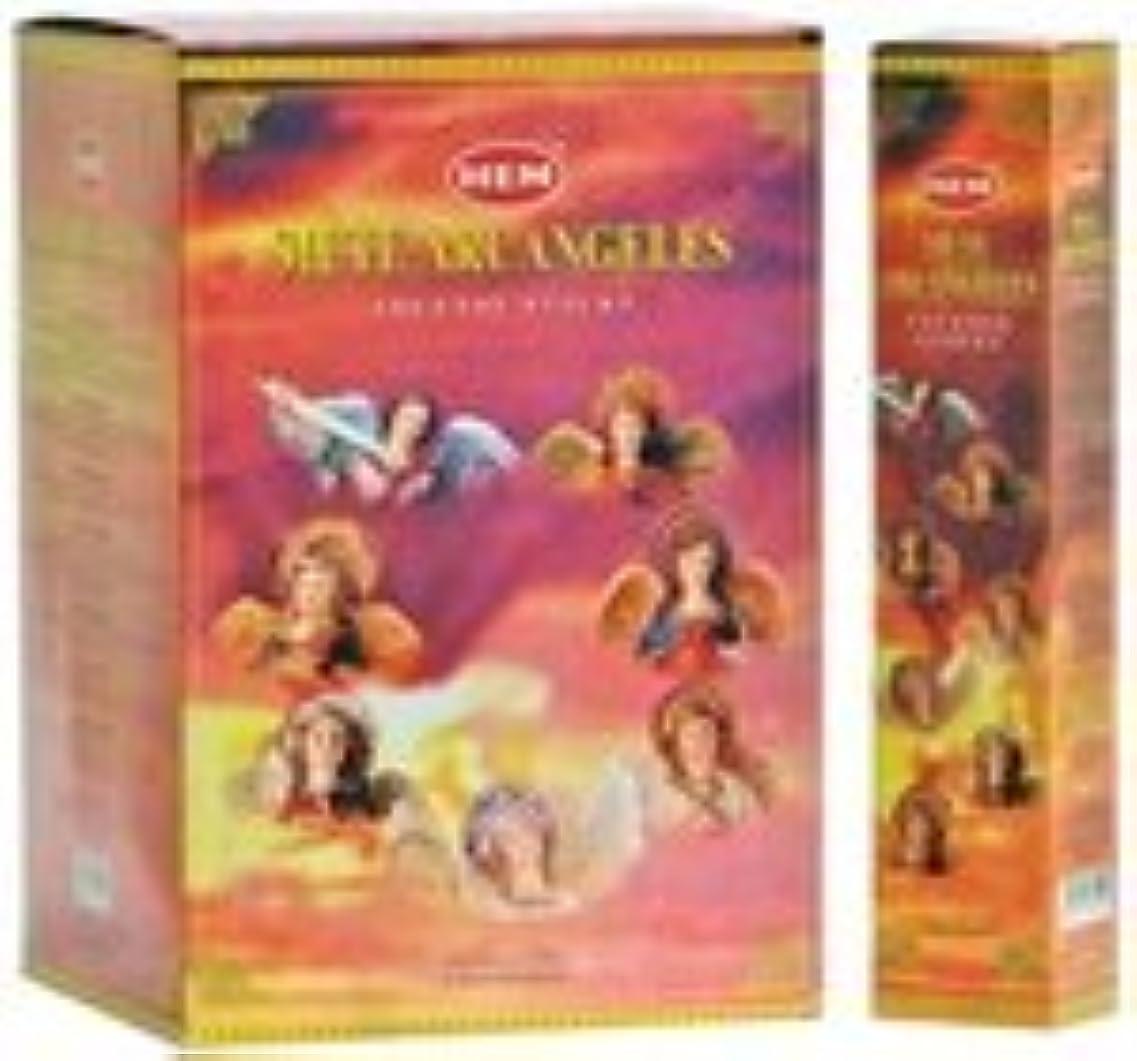 分類する熟読するバトルアルヒアンゲロス( Siete Arcangels ) – 35グラムボックス、7違いIncense – 裾Incenseインドからインポート