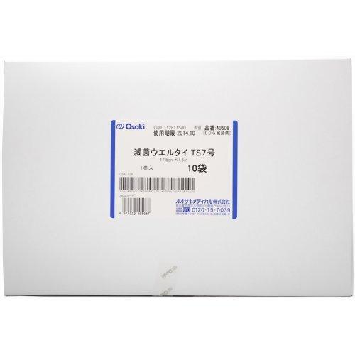 オオサキメディカル 滅菌ウエルタイ TS7号-1 1巻入 10袋